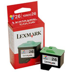 Lexmark 10N0026 Color Ink Cartridge (275 Pages)