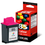 Lexmark 12A1985 Color High Yield Ink Cartridge (470 Pages)