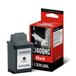 Lexmark 13400HC Black Ink Cartridge (600 Pages)