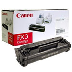 Canon 1557A002BA FX3 Black Toner Cartridge (2.7k Pages)
