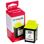 Lexmark 15M0120 Color Ink Cartridge (275 Pages)