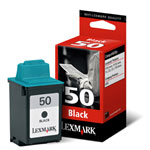 Lexmark 17G0050 Black Ink Cartridge (410 Pages)