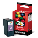 Lexmark 18C0035 Color High Yield Ink Cartridge (450 Pages)
