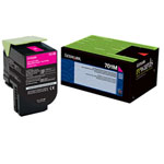 Lexmark 70C10M0 Magenta Toner Cartridge (1k Pages)