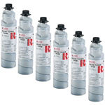 Ricoh 885208 Type 2110D Black Toner Cartridge 6-Pack (11k Pages)