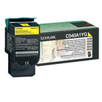 Lexmark C540A1YG Yellow Toner Cartridge (1k Pages)