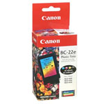 Canon F45-1311-400 BC22E Color Photo Ink Cartridge (90 Pages)