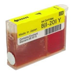 Canon F47-0511-400 BJI201Y Yellow Ink Cartridge (210 Pages)
