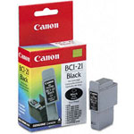 Canon F47-0731-400 BCI21BK Black Ink Tank Refill Cartridge (200 Pages)