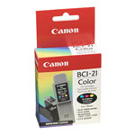 Canon F47-0741-400 BCI21C Tri-Color Ink Tank Refill Cartridge (200 Pages)