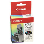 Canon F47-0741-410 BCI-21 Color Ink Cartridge