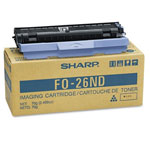 Sharp FO-26ND Black Toner/Developer Cartridge (2k Pages)