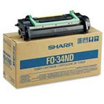 Sharp FO-34ND Black Toner/Developer Cartridge (15k Pages)