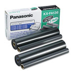 Panasonic KX-FA136 Film Refill Cartridge 2-Pack (656 Pages)
