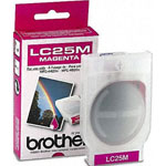 Brother LC25M Magenta Ink Cartridge (400 Pages)