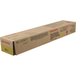 Sharp MX-C40NTY Yellow Toner Cartridge (10k Pages)