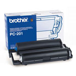 Brother PC201 Black Print Cartridge (450 Pages)