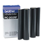 Brother PC202RF Ribbon Refill Rolls 2-Pack (450 Pages)