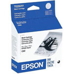 Epson T028201 Black Ink Cartridge (600 Pages)