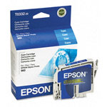 Epson T033220 Cyan Ink Cartridge (440 Pages)