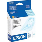 Epson T034520 Light Cyan Ink Cartridge (440 Pages)