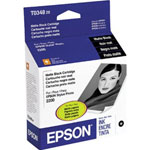 Epson T034820 Matte Black Ink Cartridge (440 Pages)