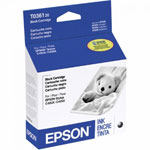 Epson T036120 Black Ink Cartridge (220 Pages)