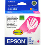 Epson T042320 Magenta Ink Cartridge (420 Pages)