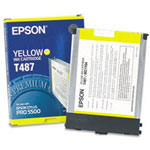 Epson T487011 Yellow Ink Cartridge (3k Pages)