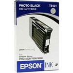 Epson T543100 Photo Black Ultrachrome Ink Cartridge (3.8k Pages)