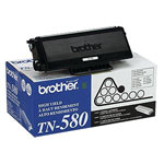 Brother TN-580 Black High Yield Toner Cartridge (7k Pages)