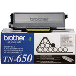 Brother TN-650 Black High Yield Toner Cartridge (8k Pages)