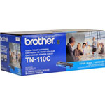 Brother TN110C Cyan Toner Cartridge (1.5k Pages)