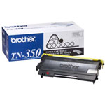 Brother TN350 Black Toner Cartridge (2.5k Pages)