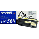 Brother TN560 Black Toner Cartridge (6.5k Pages)