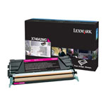 Lexmark X746A2MG Magenta Toner Cartridge (7k Pages)