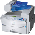 Ricoh 4430NF, 250 & 500 Sheets Paper Cassettes, 100 Sheet Bypass, (2) Toners, Free Shipping