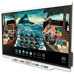 Smartboard SBID-7275-V2 Ultra HD Video Interactive Flat Panel with iQ and SMART Meeting Pro(75