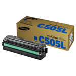 Samsung CLT-C505L Cyan Toner Cartridge (3.5k Pages)