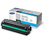 Samsung CLT-C506L Cyan High Yield Toner Cartridge (3.5k Pages)