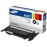 Samsung CLT-K407S Black Toner Cartridge (1.5k Pages)