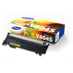 Samsung CLT-Y404S Yellow Toner Cartridge (1k Pages)