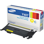 Samsung CLT-Y407S Yellow Toner Cartridge (1k Pages)