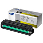 Samsung CLT-Y504S Yellow Toner Cartridge (1.8k Pages)