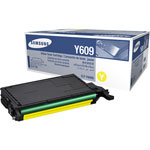 Samsung CLT-Y609S Yellow Toner Cartridge (7k Pages)