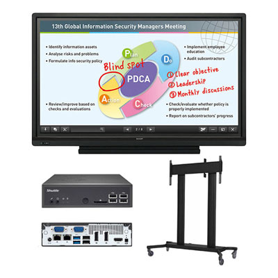 Sharp PN L603BPKG3 All In One Interactive Display Solution Package