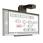 SMART Board 880 with UF75 Projector - SB880i5e-SMP