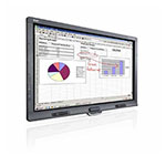 SMART Board SBID8055ie SMP Interactive Display with SMART Meeting Pro and Appliance