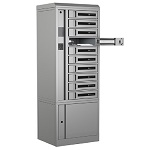 Bretford TCLAKS200EF11 TechGuard Connect 10-Bay Charging Locker