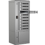 Bretford TCLAR0100EF11 TechGuard Connect 10-Bay Charging Locker